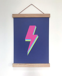 Neon Wall Print (unframed)