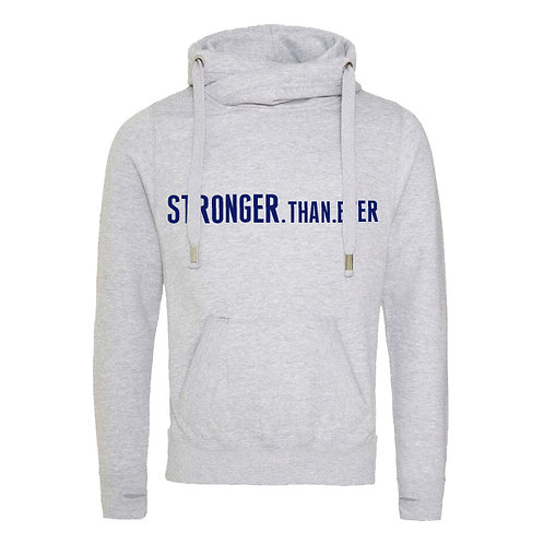 (LIMITED STOCK) Stronger Than Ever Cowl Neck Hoodie