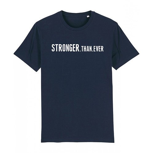 Mens Stronger.Than.Ever Tee Navy