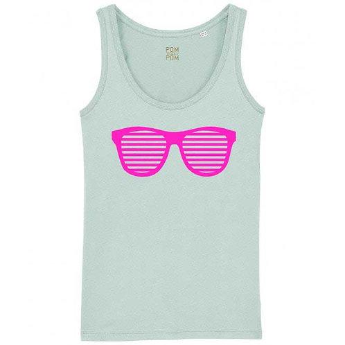 Womens Sunglasses Tank Top Blue