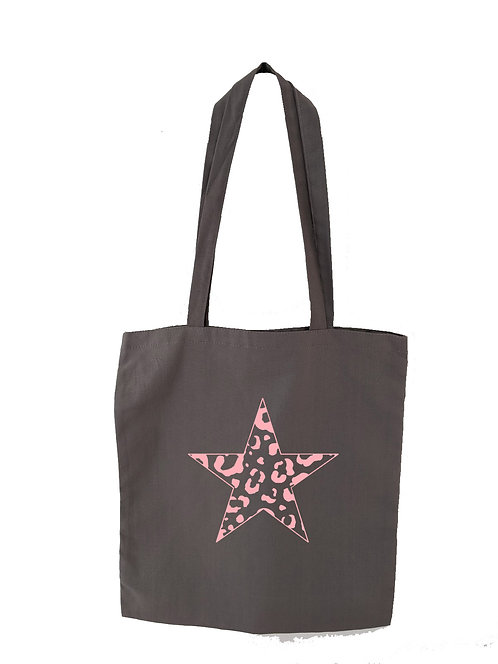 Leopard Star Tote bag