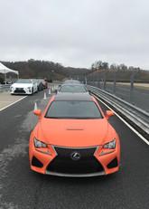 Lea Lead Driver Lexus RCF