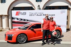 Lea Leads Women in Audi R8s
