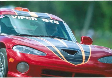 Lea in Viper PPG Pace Car Driver