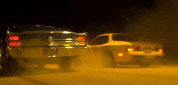 Lea drives Porsche Turbo 944 in Need For Speed Movie