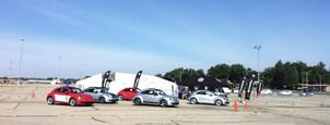 Lea with VW Launch of 3rd Gen Beetle