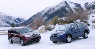 Lea in Honda CRV Commercial