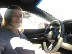 Lea in Mazda Commercial