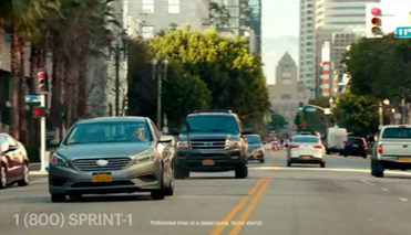 Lea in Sprint Commerical
