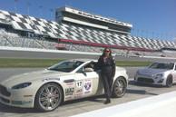 Lea at Daytona Speedway