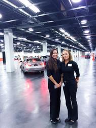 Lea with Lexus LA Autoshow