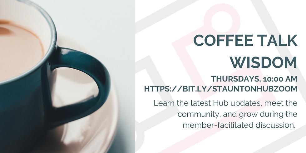 Coffee Talk-in person!