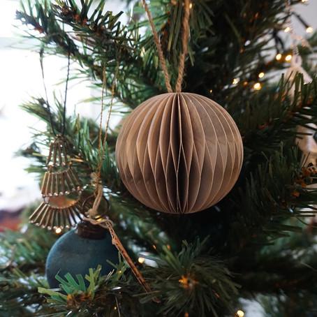 Papieren kersthangers, mooi in elk interieur