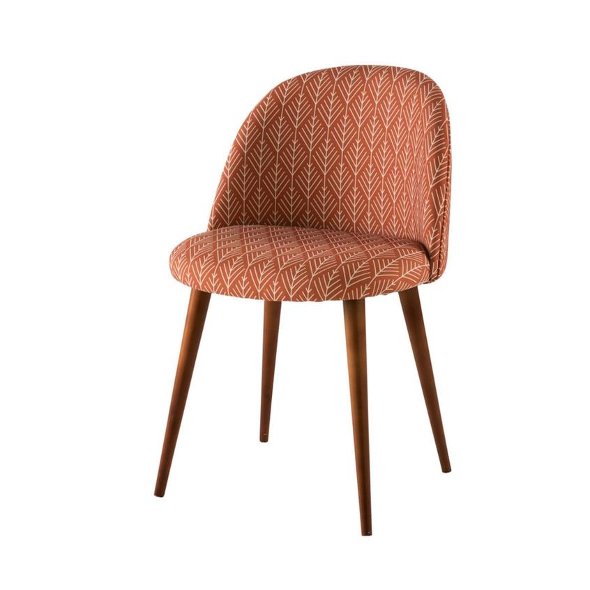 terracotta-vintage-stoel-met-motief-en-m