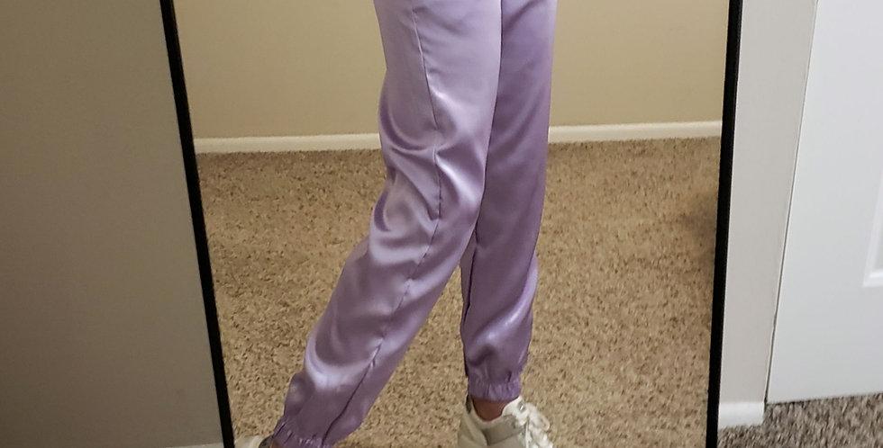Satin Sporty Pants
