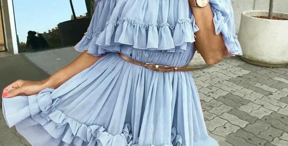 Sexy Ruffle Dress