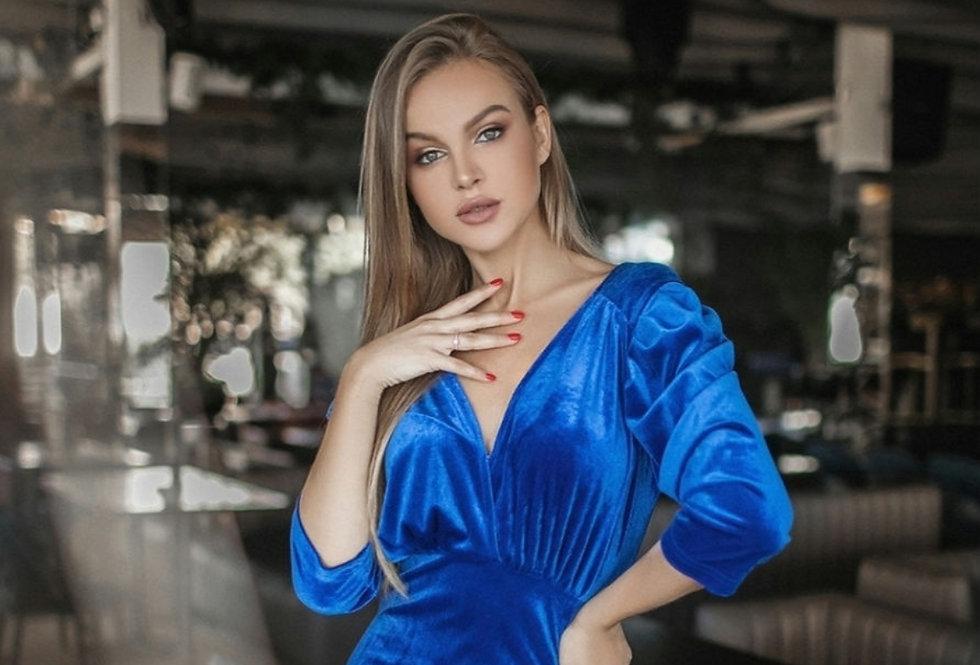 Exclusive Cocktail Velvet Dress