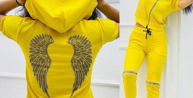 Sportswear Set Angel Wings