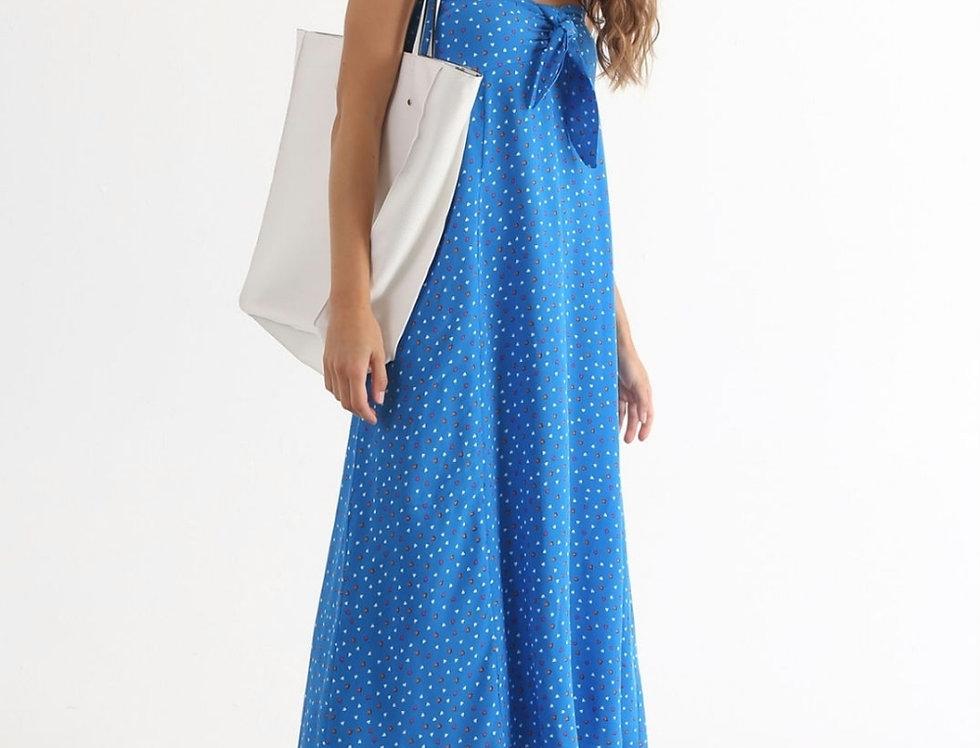 Summer Heart Print Dress