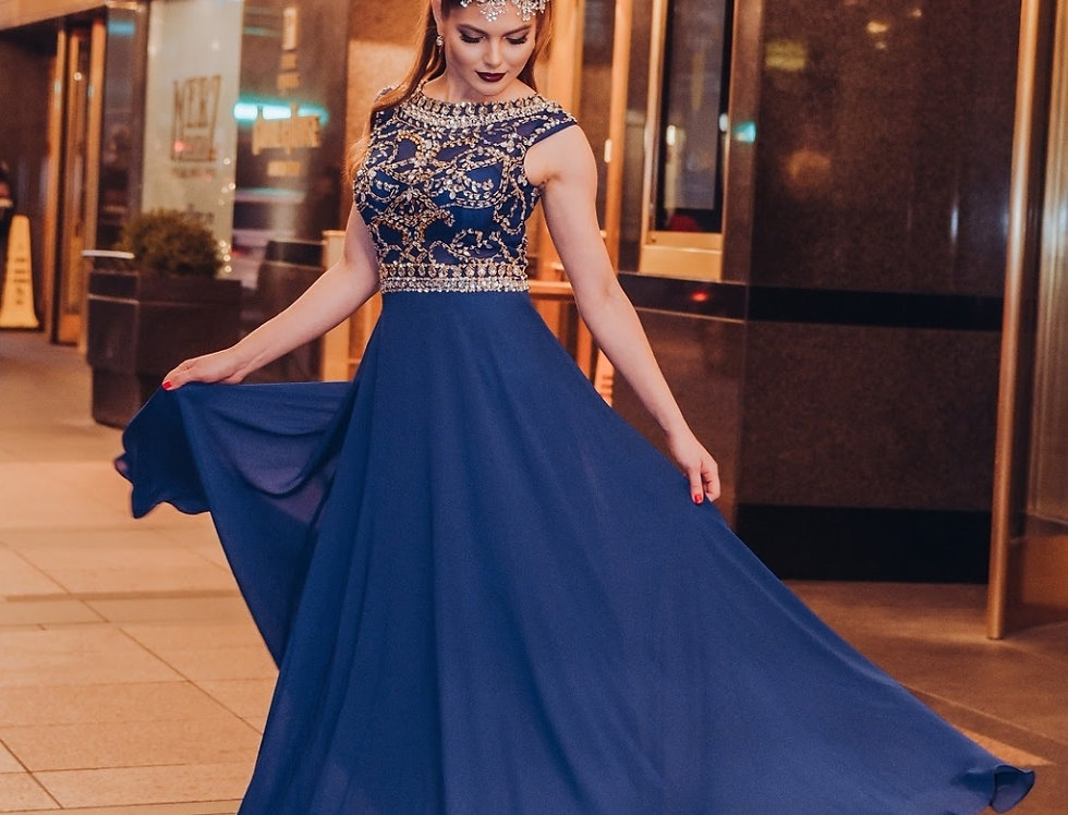 Arabic Style Long Dress
