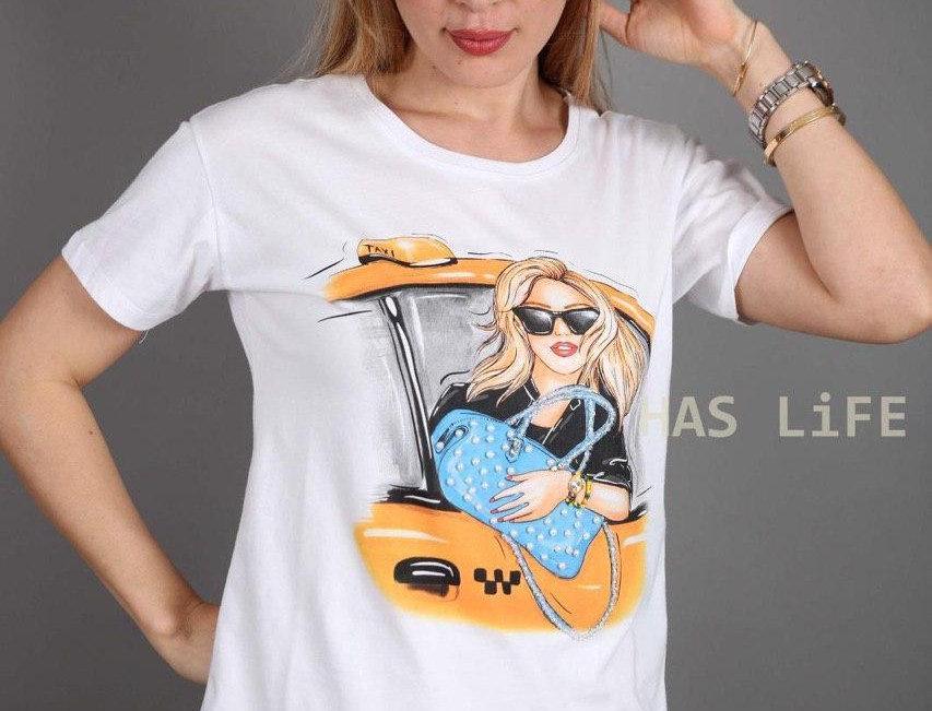 T-Shirt + Print