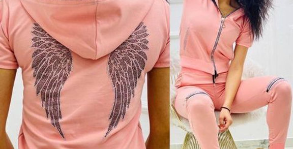 Sportswear Set Angel Wings