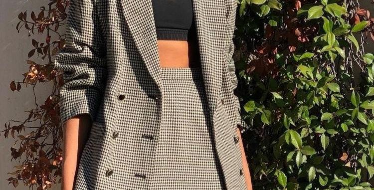 Suit jacket + skirt