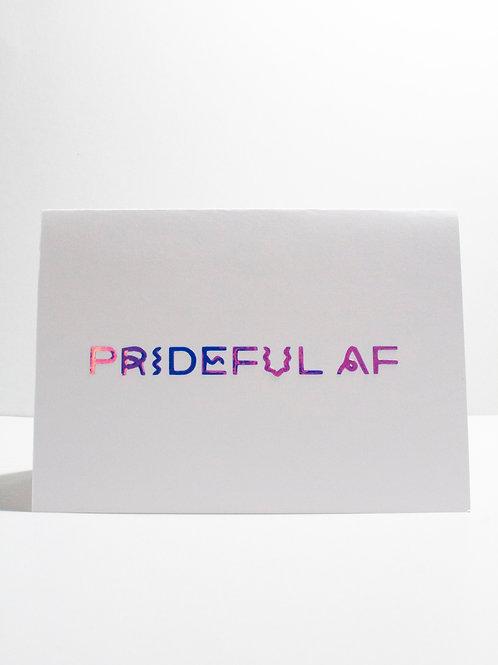 Prideful AF