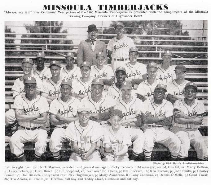 Missoula Timberjacks 1960 The final season.jpg