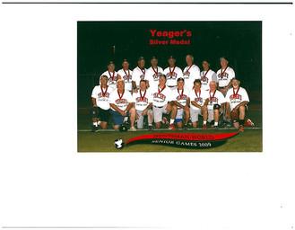 2009 Silver Medal +60 AAA Division World Senior Games.jpg