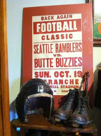 Butte Football-leather helmet and early style cleats .jpg