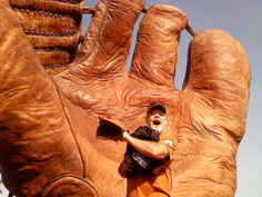 2008 Glovedad meets the Big Glove in the sky.jpg