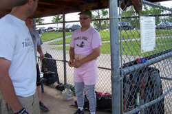 Nice looking pink shorts for Tracy - Friday, July 25, 2008