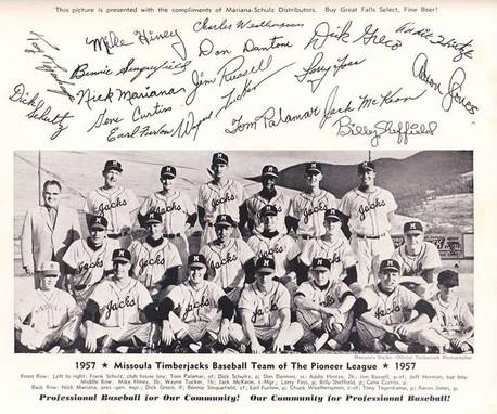 Missoula Timberjacks 1957.jpg