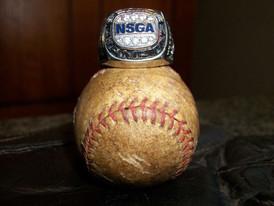 2009 NSGA ring and vintage salesman's sample baseball.jpg