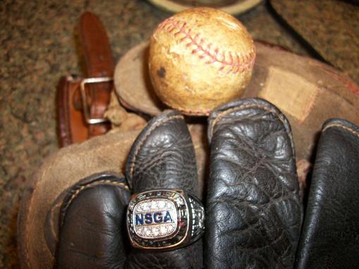 2009 National Senior Games Ring and old gloves .jpg