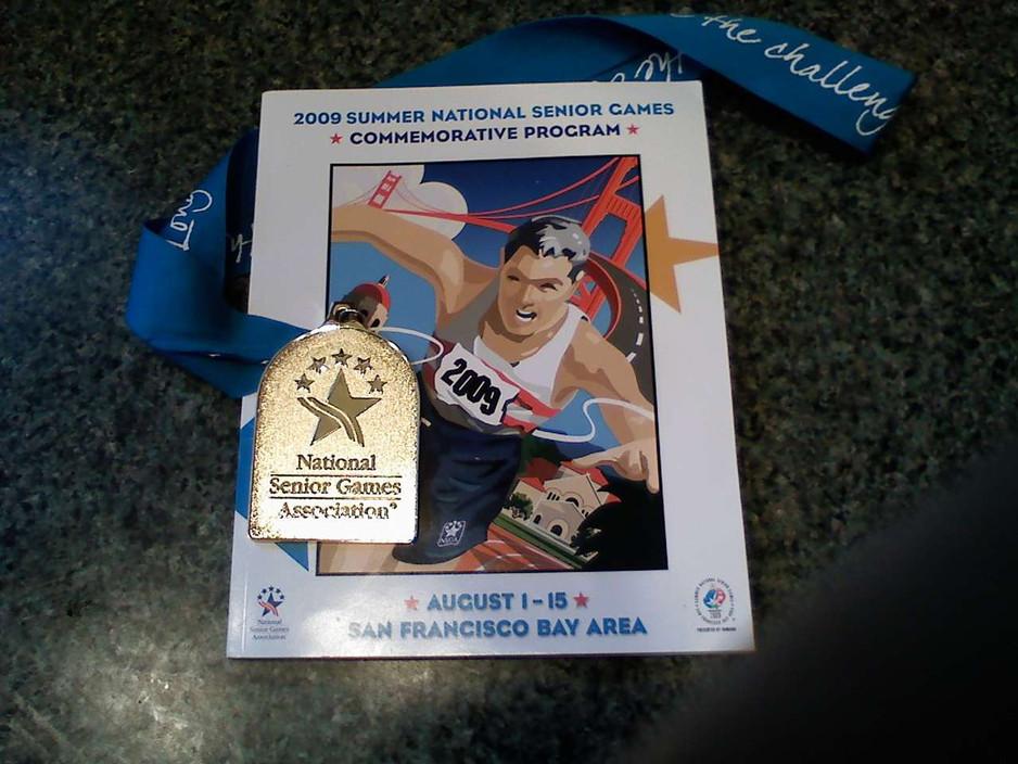 2009 Gold Medal National Senior Games San Francisco.jpg
