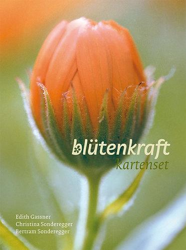 blütenkraft-Kartenset mit Begleitbuch