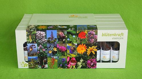 blütenkraft-Essenzen Gesamtset (50 Stk.) Kartonschubladen inkl. Beschreibungen