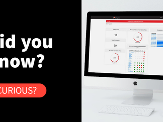 Did you know you can track, manage and control your live assessment projects?