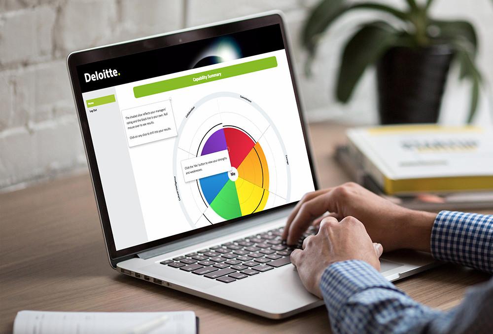 Deloitte online reporting by Profiling Online