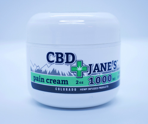 CBD Jane's Pain Cream 2oz / 1000mg