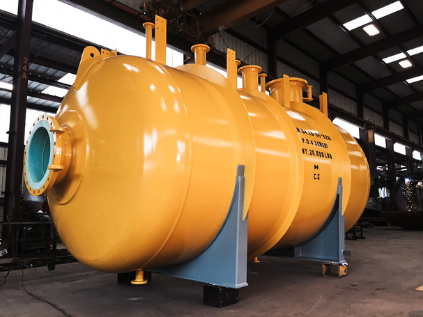 Internally Lined Wet H2S Drum