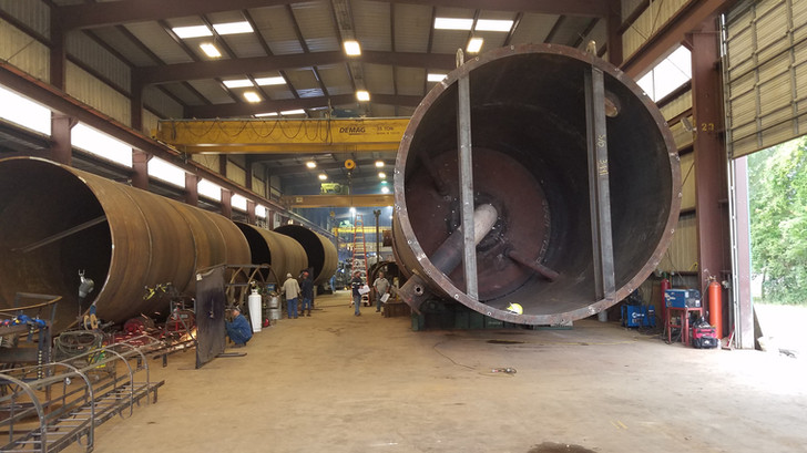 In Process Reactor Fabrication