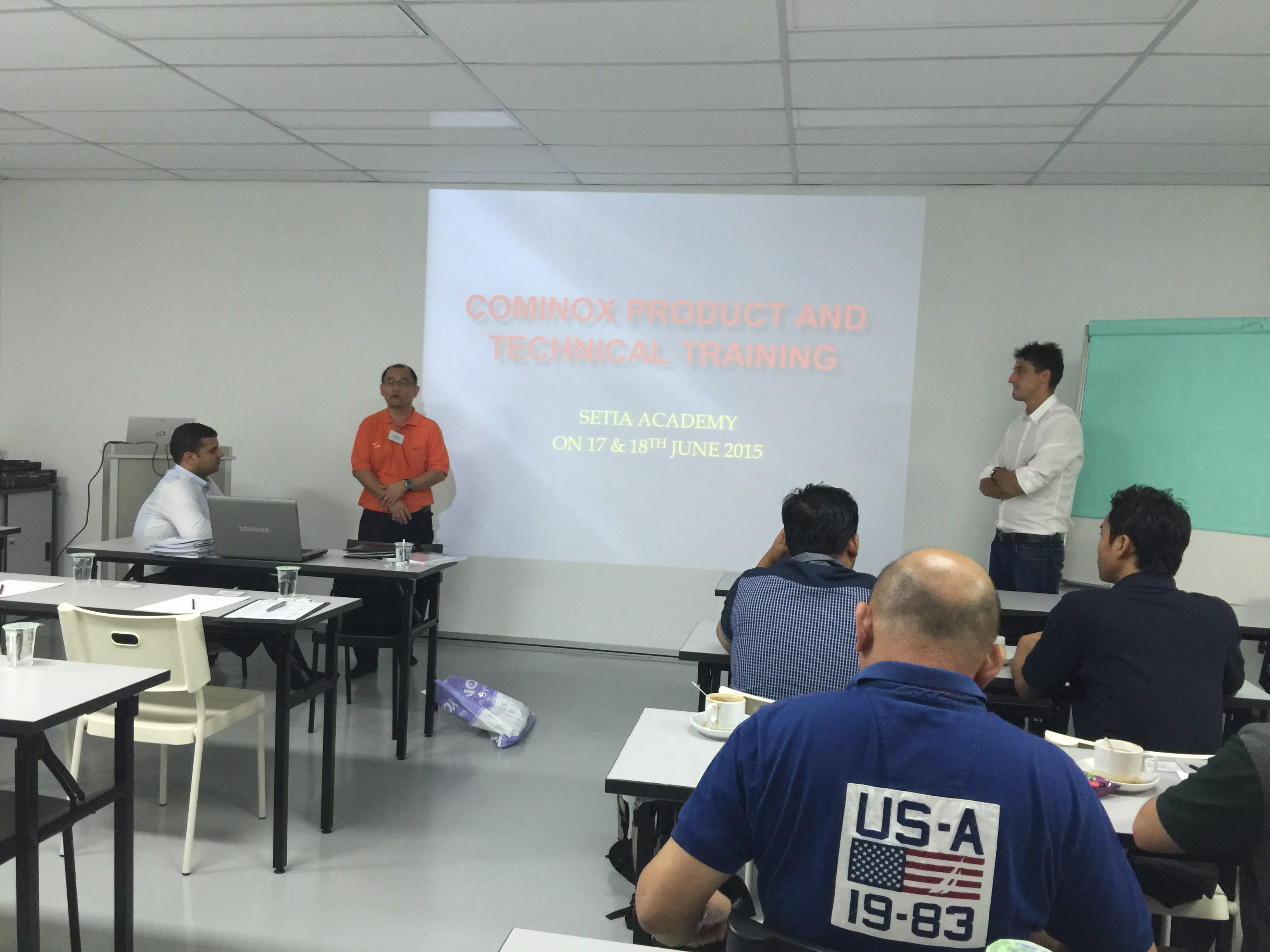 Cominox Products & Technical Trainin