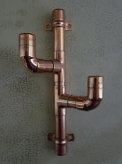 copper cactus hook