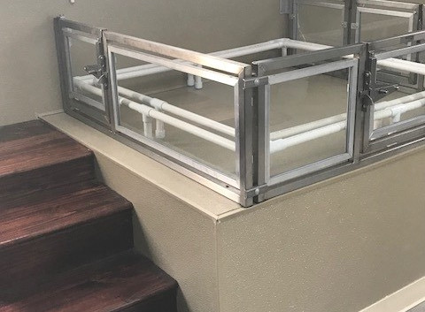 Whelping Box with steps