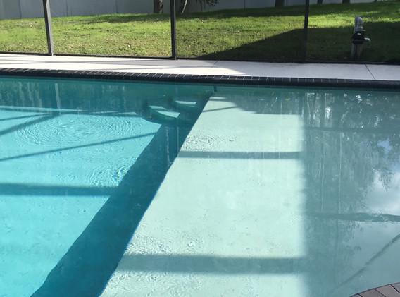 Swim out ledge