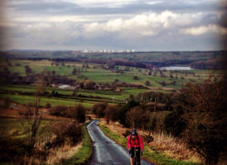 Building up the endurance - 70km Bike ride