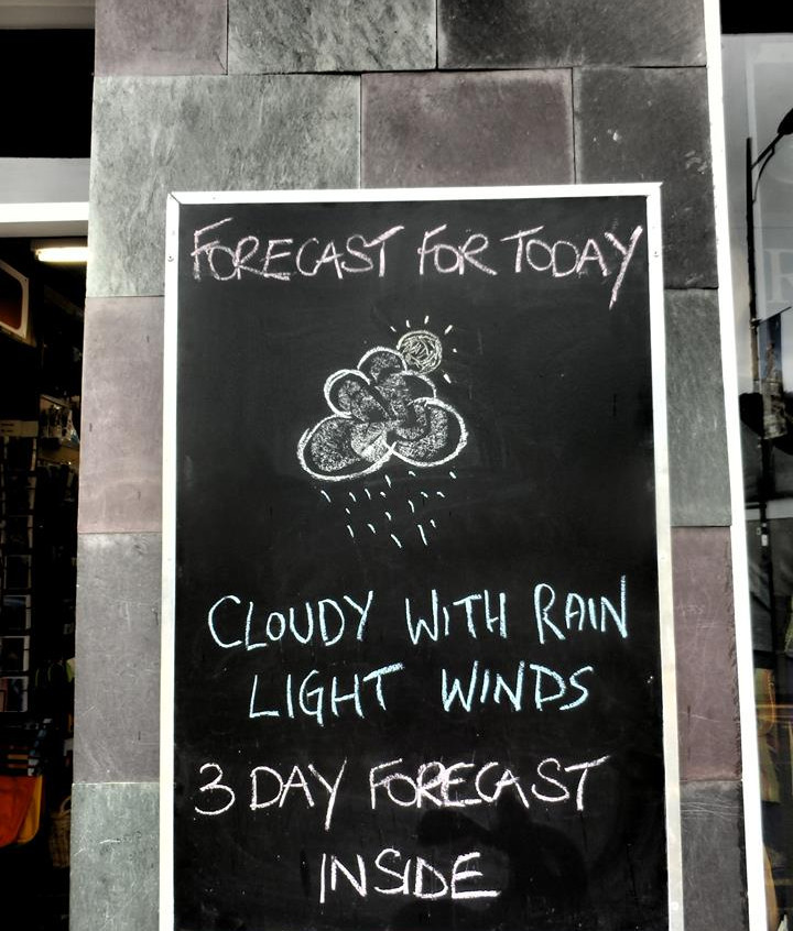Weather forecast for Snowdonia